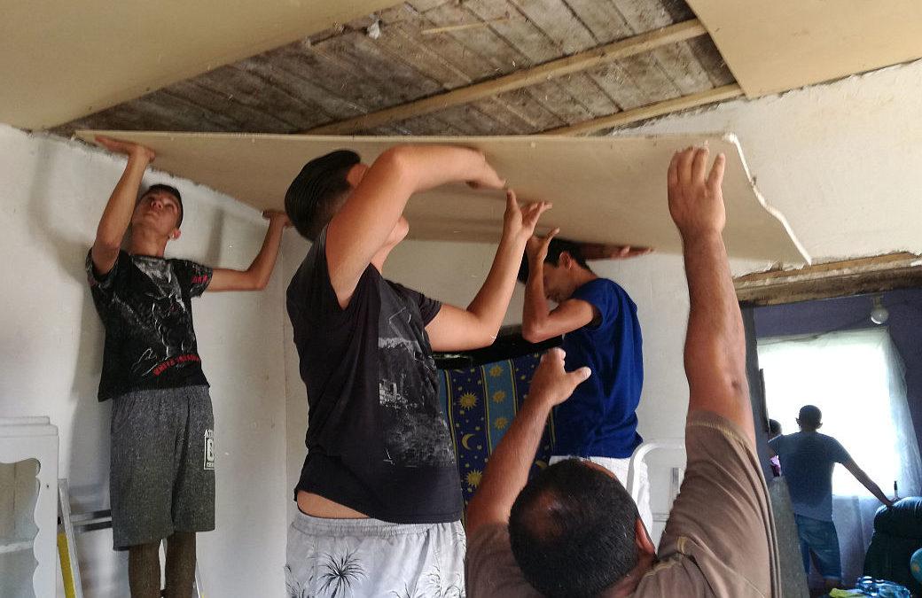 Ifi tábor szolgálatban, öröm az adás