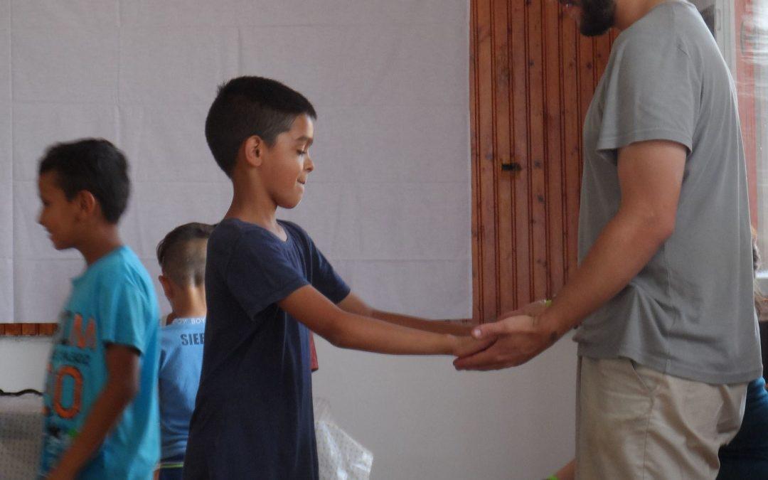 A Szátoki gyerekek vendégeket fogadtak