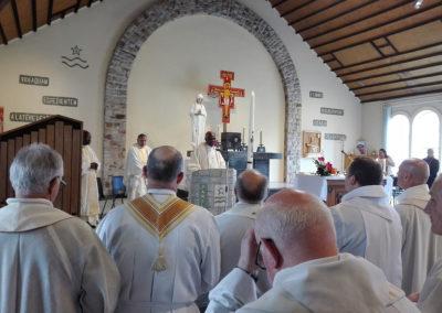 Tukson bíboros beszéde a záró szentmién