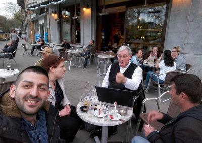 Kávézás Brüsszelben