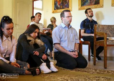 A Taizei imaóra elmaradhatatlan része a találkozónak