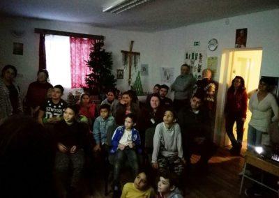 A kárácsonyi ünnepség
