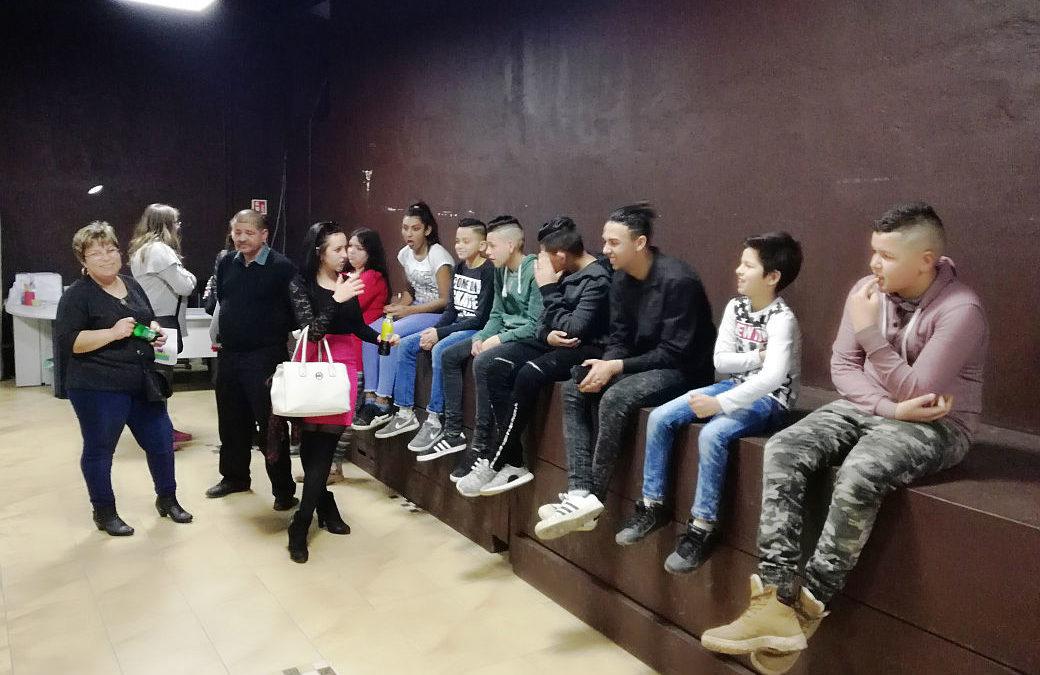 A Gózon Gyula Színházban, a Kövek előadásán