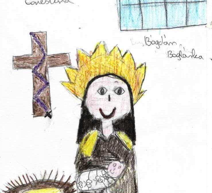 Gyermekrajz pályázat Boldog Emiliáról
