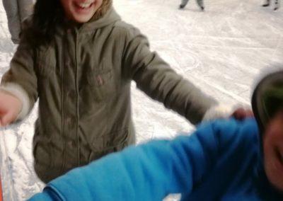Vidám dolog a korcsolyázás!
