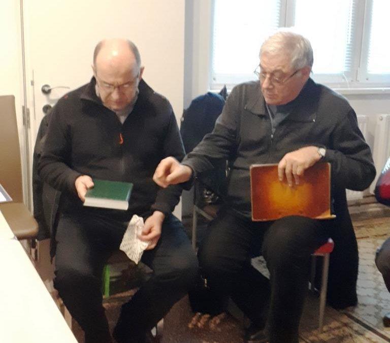 Marton Zsolt püspök atya látogatása a Ceferino Házban